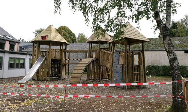 Nouvelle aire de jeux près de l'école de Buschdorf